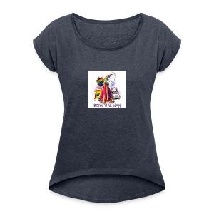 45872457f44c1fdfb03ec1bc8ff345da - Women's Roll Cuff T-Shirt