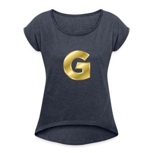Golden G - Women's Roll Cuff T-Shirt