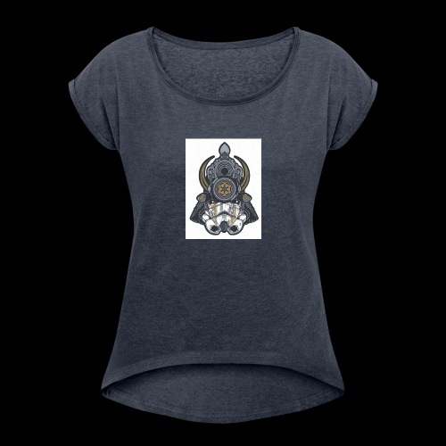 For Honor Samurai Trooper - Women's Roll Cuff T-Shirt