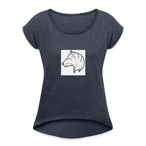 NateDogg1220 logo - Women's Roll Cuff T-Shirt