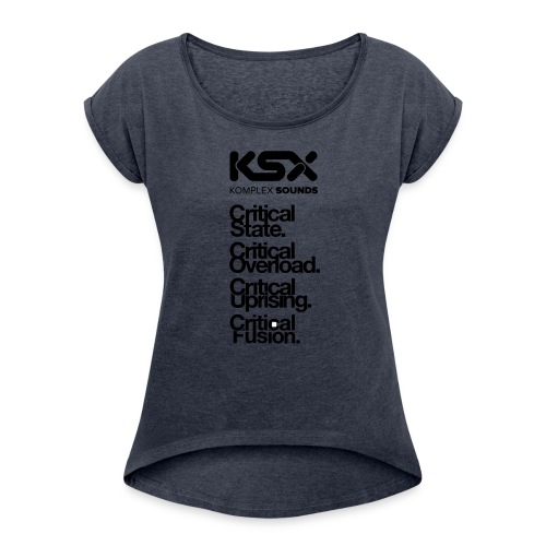 Komplex Labels - Women's Roll Cuff T-Shirt