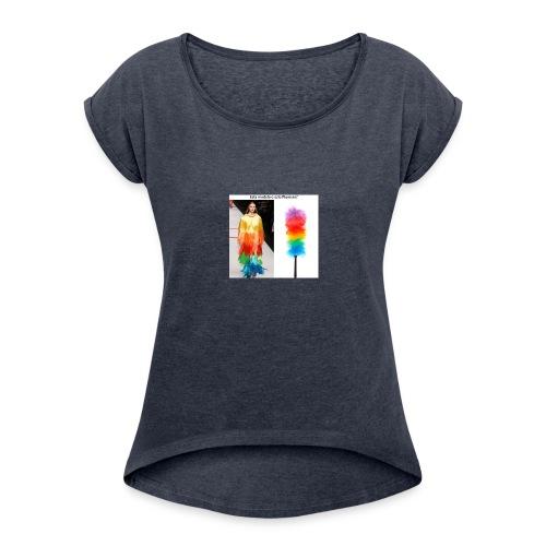 plumero - Women's Roll Cuff T-Shirt