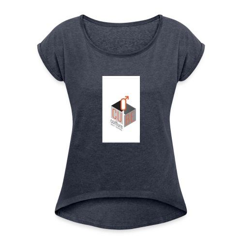 Ocube - Women's Roll Cuff T-Shirt