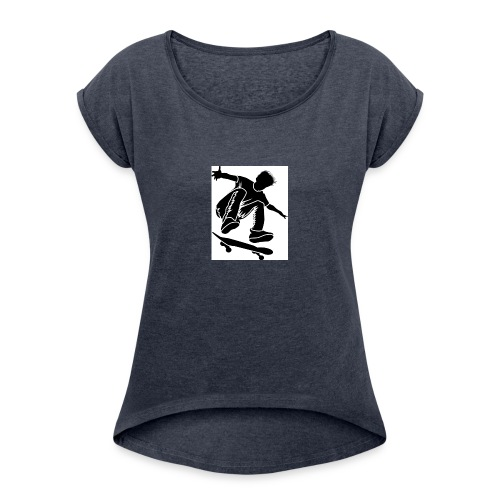 Churchies - Women's Roll Cuff T-Shirt