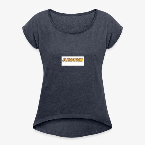 Jumond - Women's Roll Cuff T-Shirt