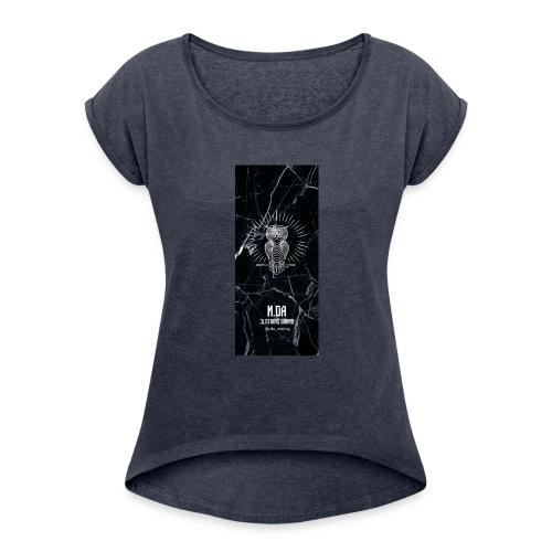 coque-BLAKKK - Women's Roll Cuff T-Shirt