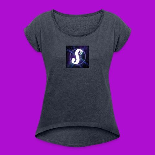 SkyrimDevil007 Merch - Women's Roll Cuff T-Shirt