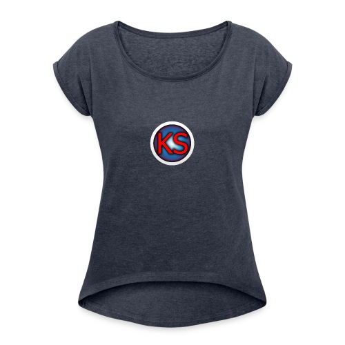 KienSz - Women's Roll Cuff T-Shirt