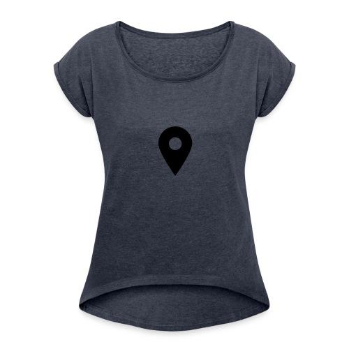 note - Women's Roll Cuff T-Shirt