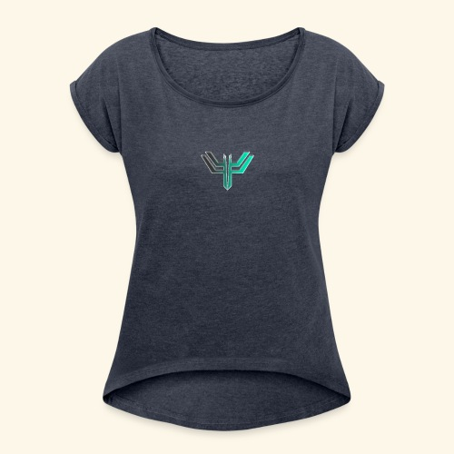 iL Era Tiny Logo - Women's Roll Cuff T-Shirt