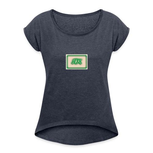 J&K Green Merch - Women's Roll Cuff T-Shirt