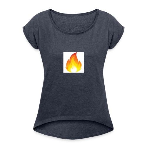 Lit Merch - Women's Roll Cuff T-Shirt