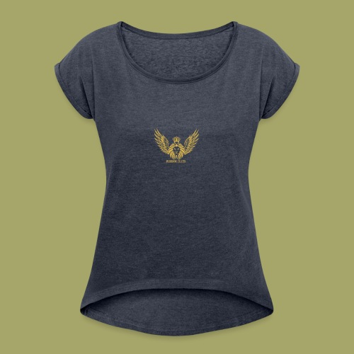 Free_Fitness - Women's Roll Cuff T-Shirt