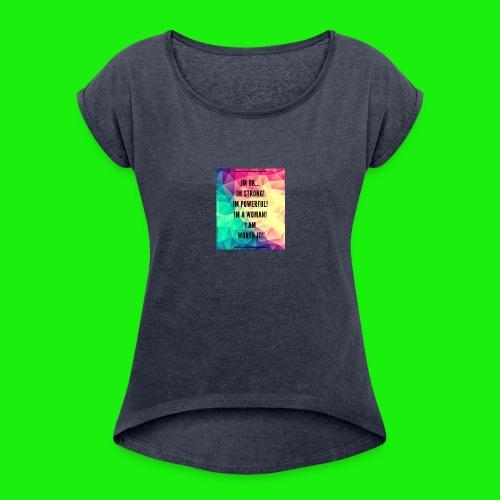 93E8BAEA 6D53 40E4 9C7C 8510DA93CA8B - Women's Roll Cuff T-Shirt