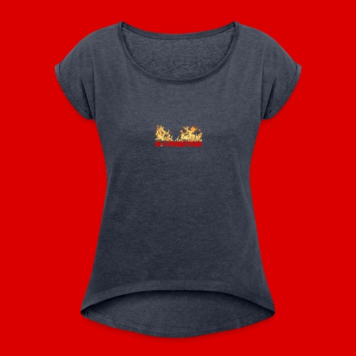 Official M.O.S Hoodie - Women's Roll Cuff T-Shirt