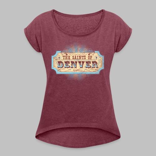SoD Logo - Women's Roll Cuff T-Shirt