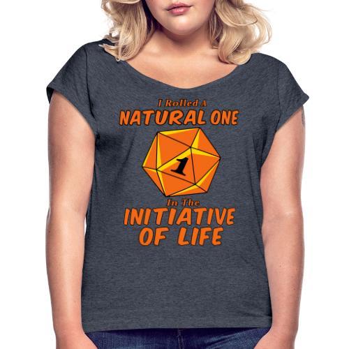 Natural One - Women's Roll Cuff T-Shirt