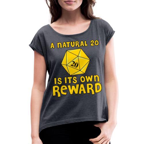 Natural Twenty - Women's Roll Cuff T-Shirt