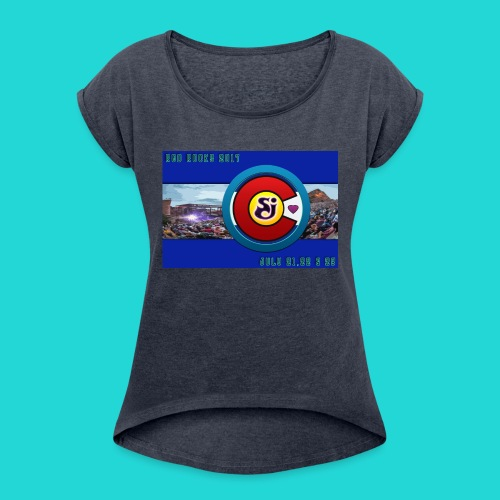 SCI String Cheese Incident Red Rocks 2017 2 - Women's Roll Cuff T-Shirt