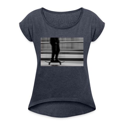 MAC_1337 - Women's Roll Cuff T-Shirt