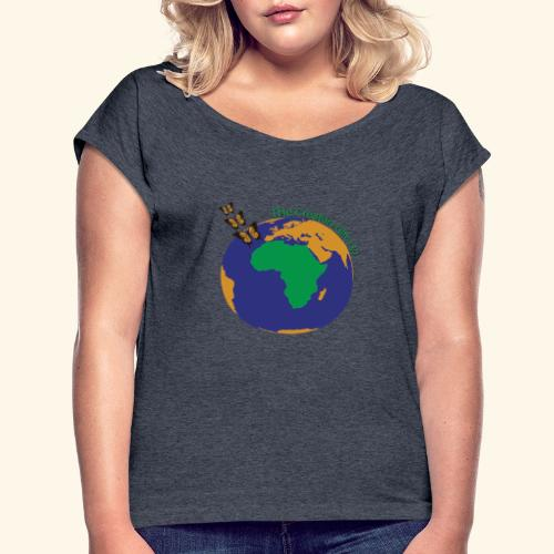 The CG137 logo - Women's Roll Cuff T-Shirt