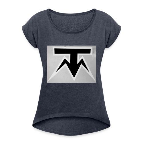TMoney - Women's Roll Cuff T-Shirt