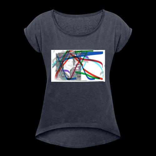 scotts art - Women's Roll Cuff T-Shirt
