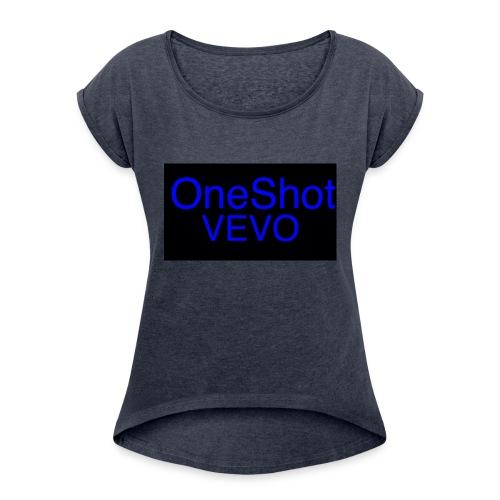OSVEVO Merch - Women's Roll Cuff T-Shirt