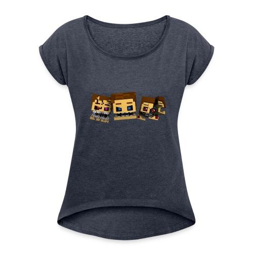 Doctorks' Shirts - Women's Roll Cuff T-Shirt