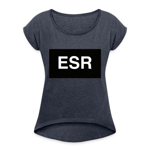 ESR Sweatshirt - Women's Roll Cuff T-Shirt