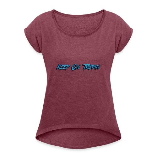KOT - Women's Roll Cuff T-Shirt