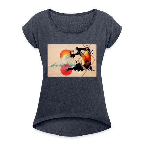 Japaned - Women's Roll Cuff T-Shirt