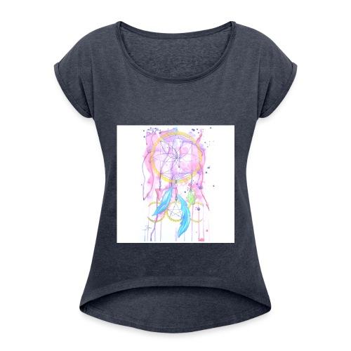 Earth Women s Gathering - Women's Roll Cuff T-Shirt