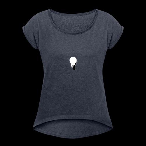 Bright Light - Women's Roll Cuff T-Shirt