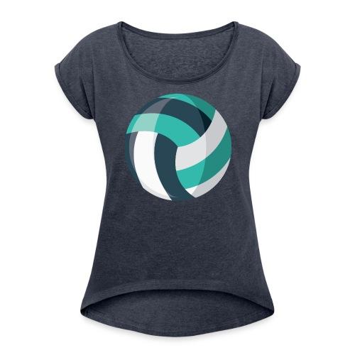 Volleyball - Women's Roll Cuff T-Shirt