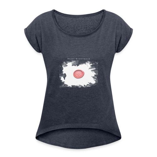 waxj - Women's Roll Cuff T-Shirt