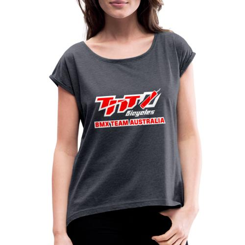 2019 - Women's Roll Cuff T-Shirt