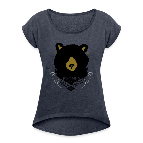 Elijah & The Bears - Women's Roll Cuff T-Shirt