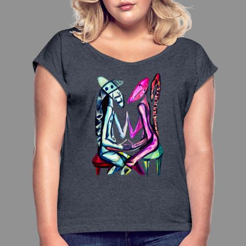 Soulmate - Women's Roll Cuff T-Shirt