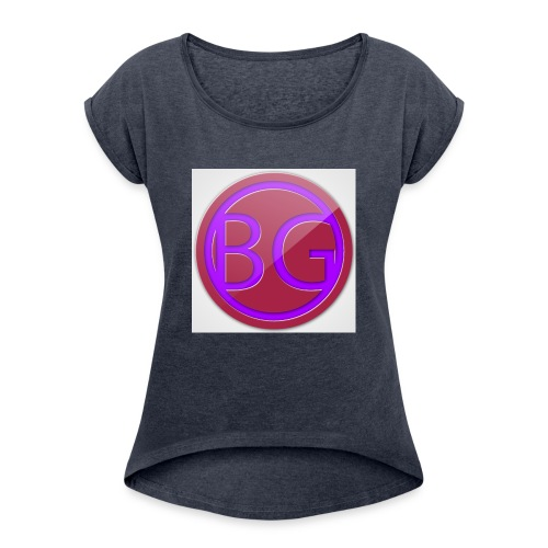 Brother Gaming 2016 logo apparel - Women's Roll Cuff T-Shirt