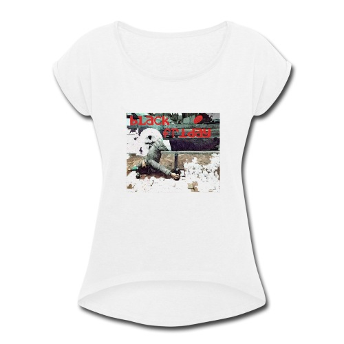 black friday - Women's Roll Cuff T-Shirt