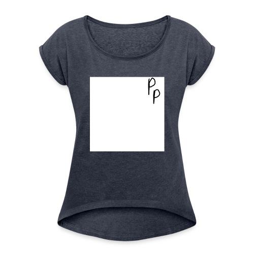 My signature - Women's Roll Cuff T-Shirt