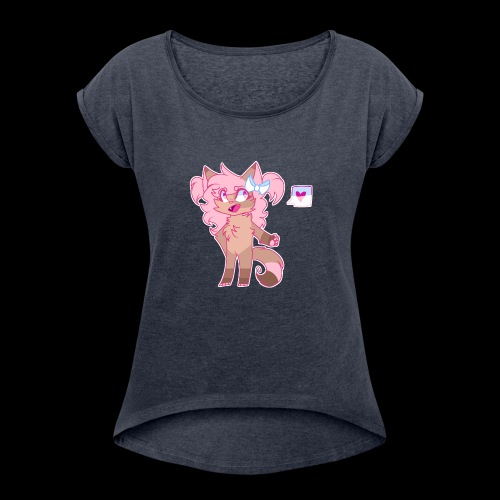 Nika - Women's Roll Cuff T-Shirt