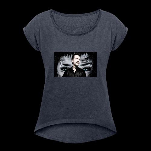 Eyes - Women's Roll Cuff T-Shirt