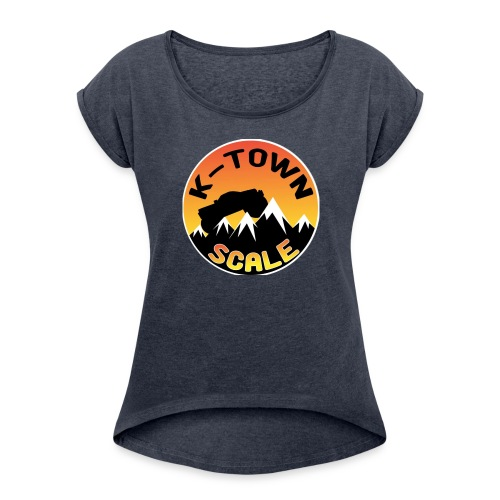 KTown Scale - Women's Roll Cuff T-Shirt