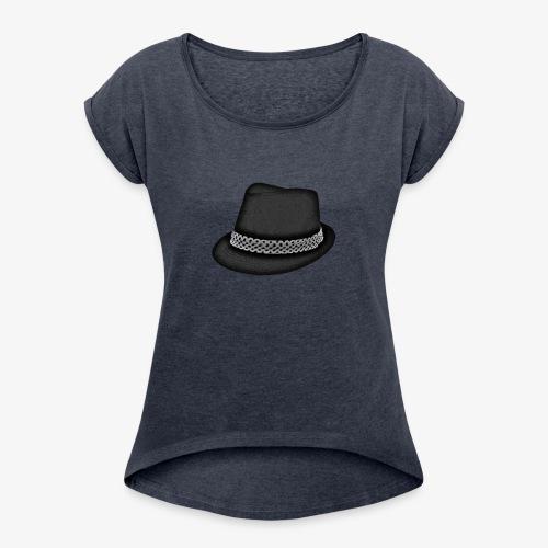 Bam FIlmz Logo - Women's Roll Cuff T-Shirt