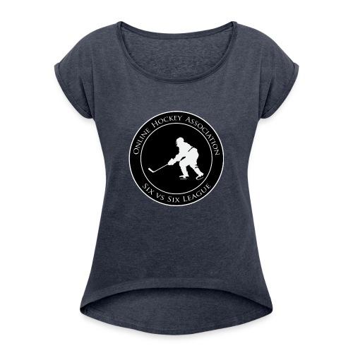 OHA Official - Women's Roll Cuff T-Shirt