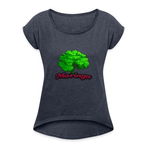 Moringa Games Mug - Women's Roll Cuff T-Shirt