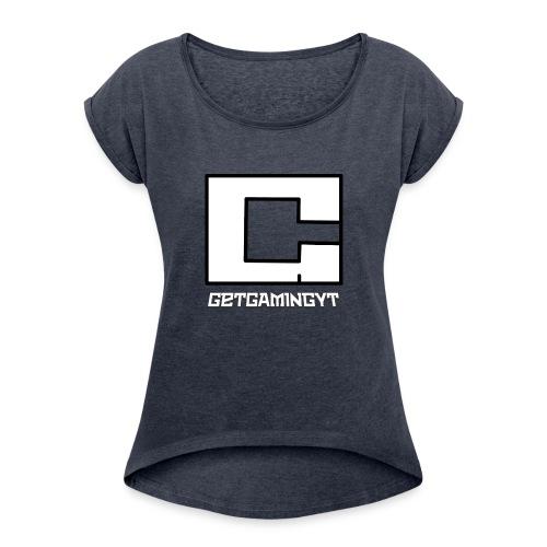 GGYT_Logo_PNG - Women's Roll Cuff T-Shirt