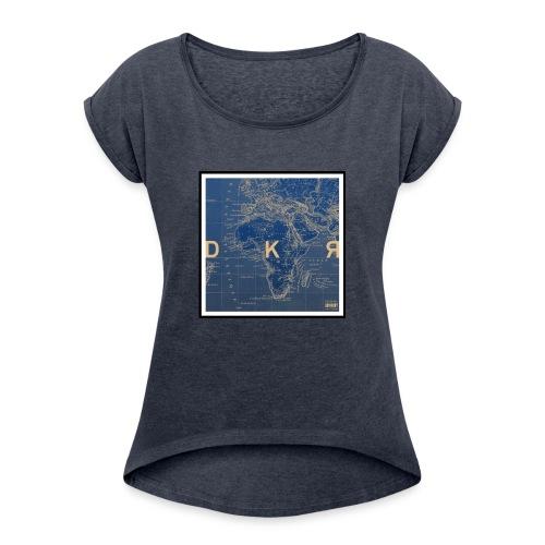 DKR_mod - Women's Roll Cuff T-Shirt